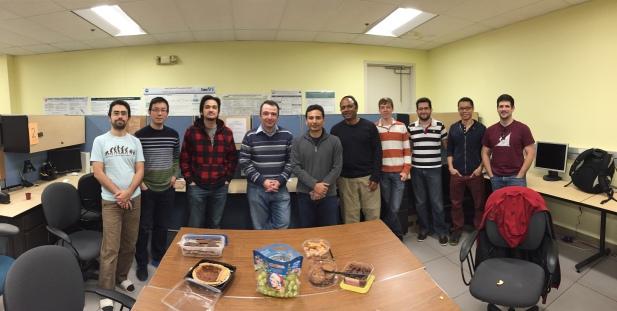 Lab peeps in December 2014.